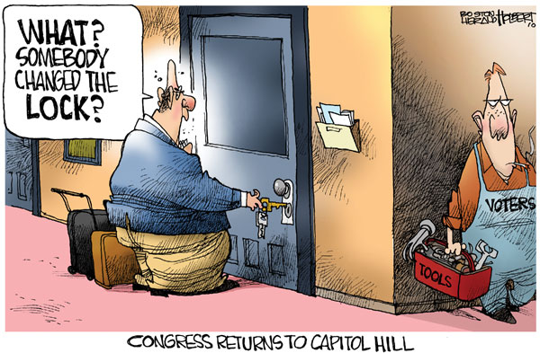 Congress locks changed by voters