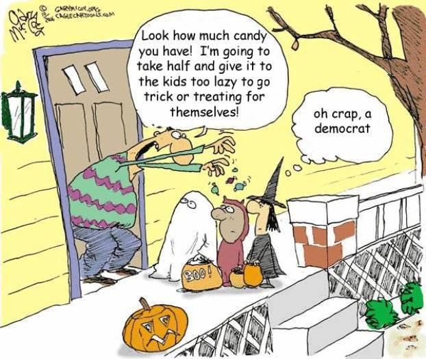 Halloween Democrat
