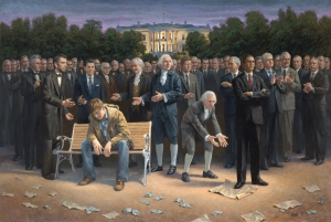 The Forgotten Man painting by Jon Naughton (Photo Credit: Jon Naughton)